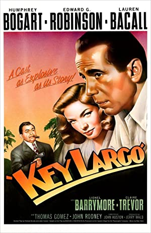 Poster Gangster in Key Largo