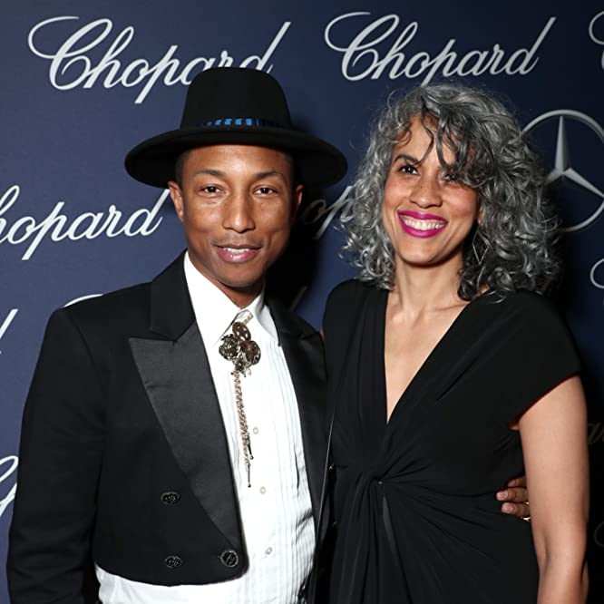 Pharrell Williams y Mimi Valdes