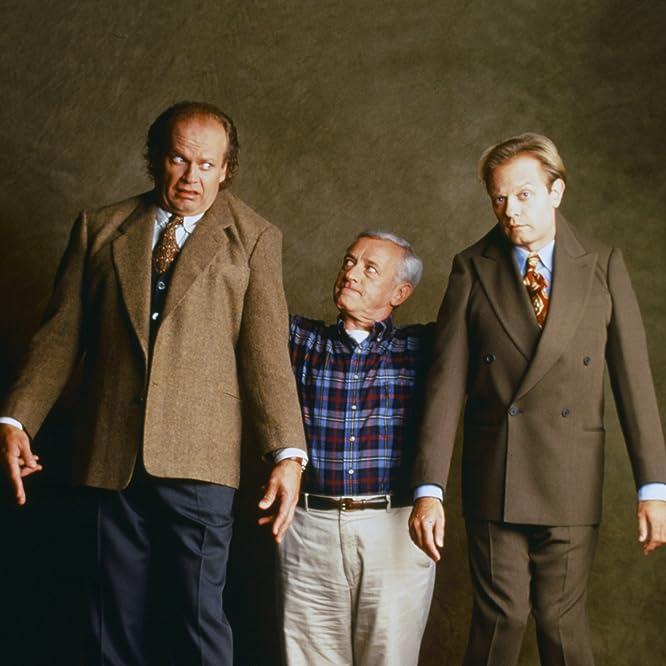 Kelsey Grammer, David Hyde Pierce, and John Mahoney in Frasier (1993)