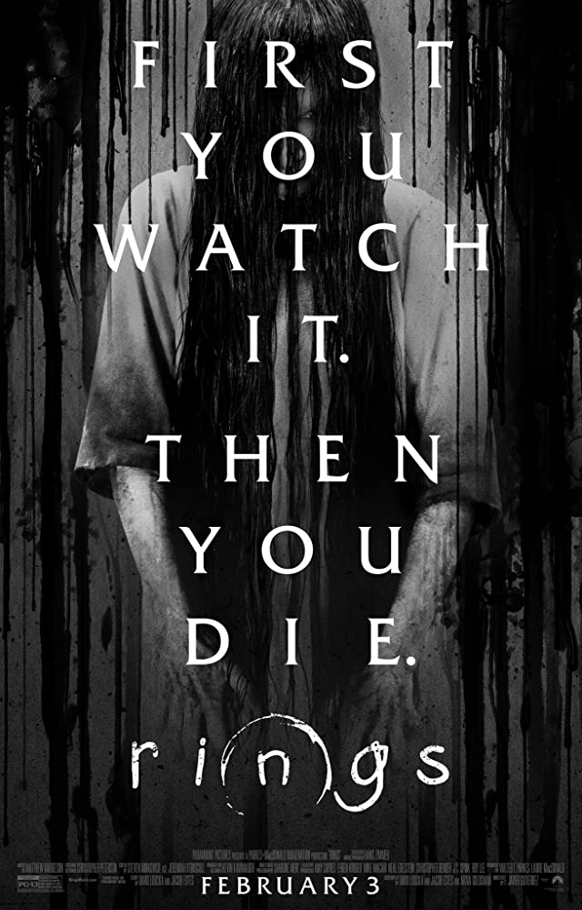 Rings movie poster thumbnail link to detail view