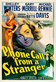 Phone Call from a Stranger (1952) Poster - Movie Forum, Cast, Reviews