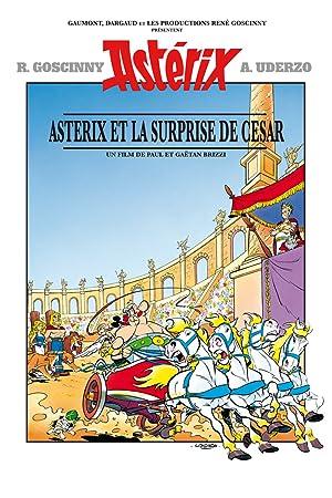 Asterix and Caesar poster