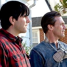 Jon Hamm and Zachary Quinto in Aardvark (2017)