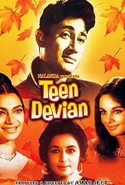 Teen Devian(1965) Poster - Movie Forum, Cast, Reviews