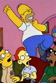 Homer Goes to College Poster