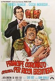 Principe coronato cercasi per ricca ereditiera Poster