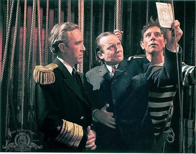 Denholm Elliott, Jason Robards, and Norman Wisdom in The Night They Raided Minsky's (1968)