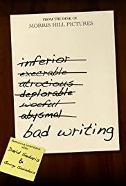 Bad Writing Poster