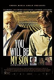 Tu seras mon fils Poster
