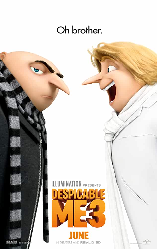 Screen Shots Despicable Me 3 2017 Full HD Movie Download Dual Audio 720p Free