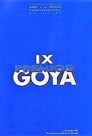 IX premios Goya Poster