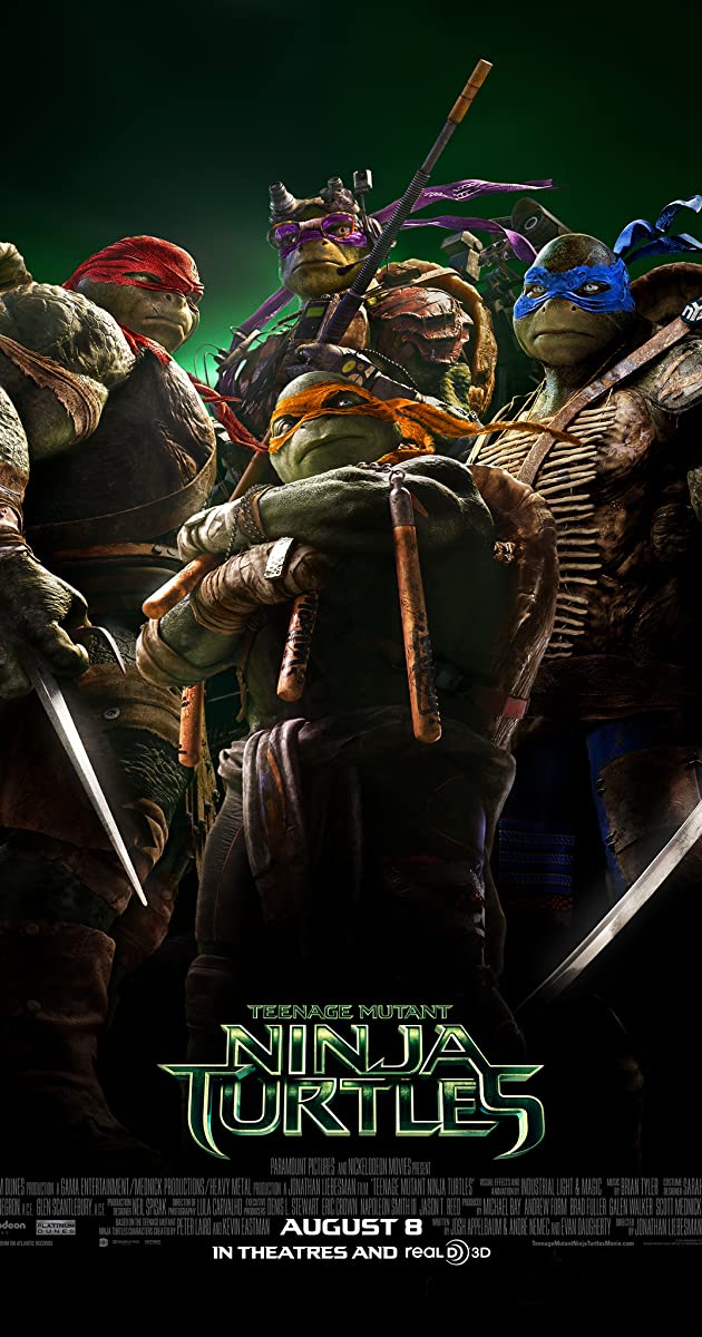 Teenage Mutant Ninja Turtles 2014 Stream
