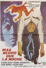 Más negro que la noche(1975) Poster - Movie Forum, Cast, Reviews