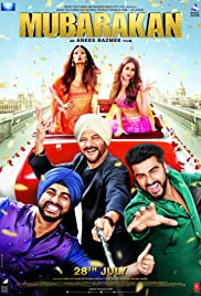 Watch free online Mubarakan Full Movie HD