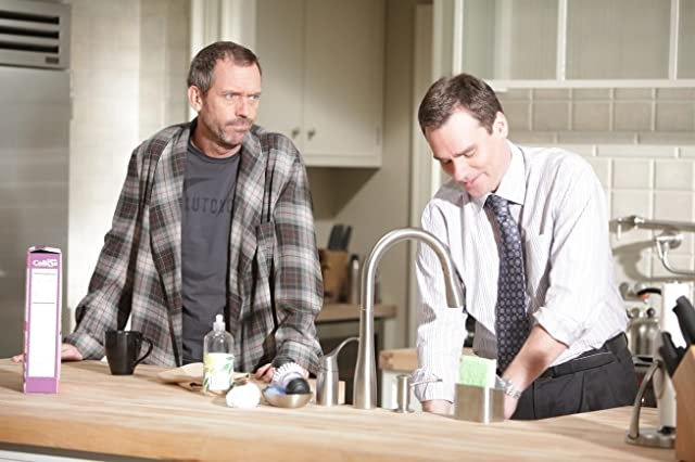 Robert Sean Leonard and Hugh Laurie in House (2004)