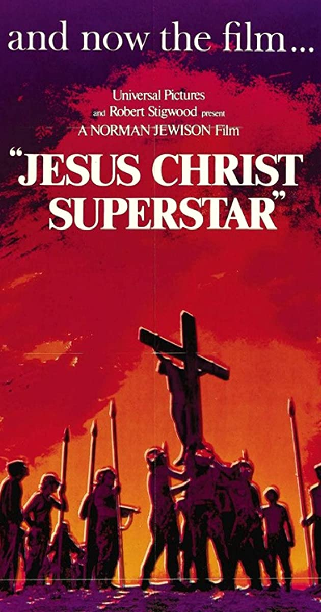 Image result for JESUS CHRIST SUPERSTAR POSTER