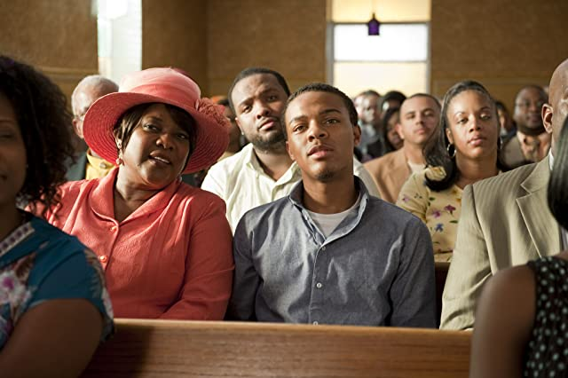 Loretta Devine and Shad Moss in Lottery Ticket (2010)