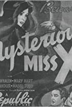 The Mysterious Miss X (1939) Poster