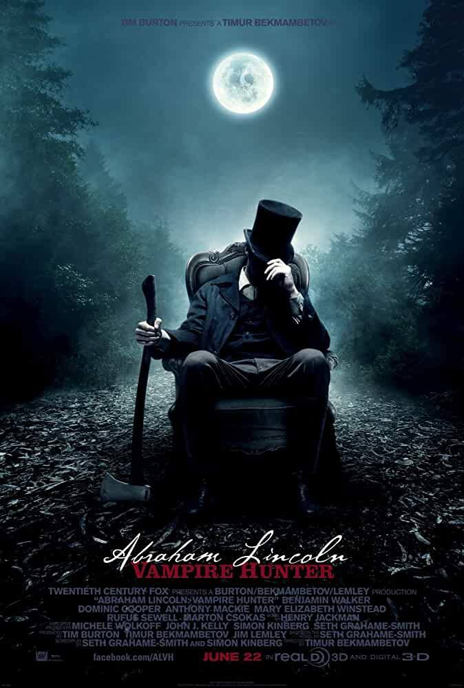 Abraham Lincoln Vampire Hunter 2012 Dual Audio 720p BluRay full movie watch online freee download at movies365.org