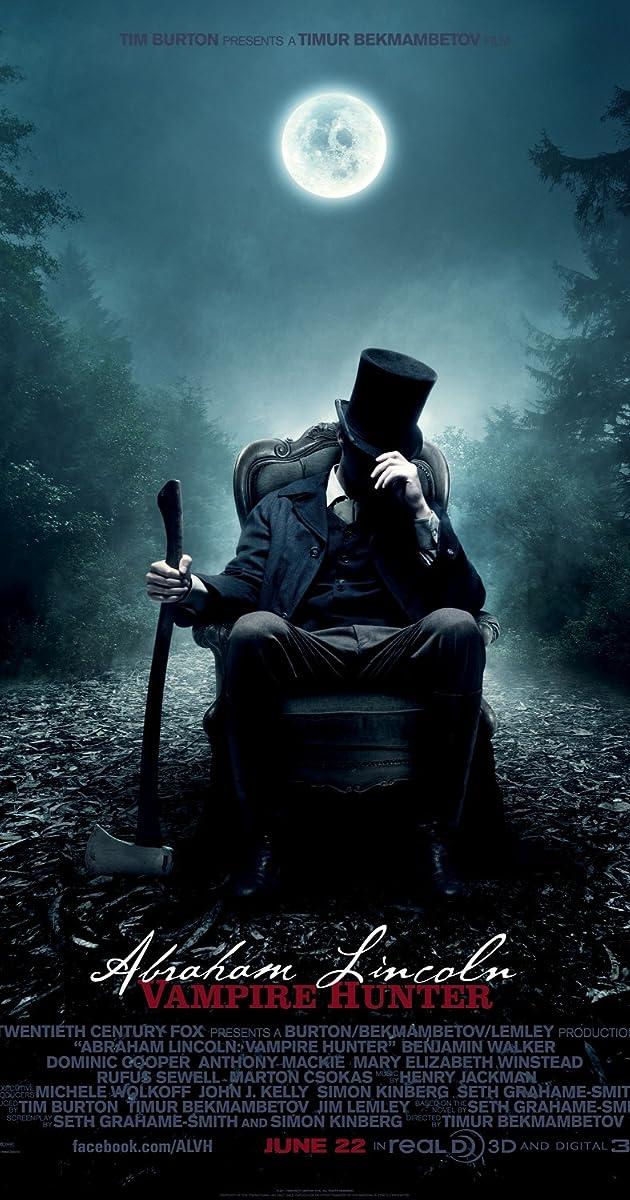 Abraomas Linkolnas. Vampyrų medžiotojas / Abraham Lincoln: Vampire Hunter (2012)