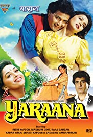 Yaraana (1995) Poster - Movie Forum, Cast, Reviews