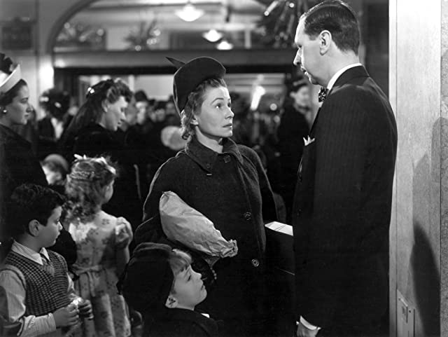 Thelma Ritter and Anthony Sydes in Miracle on 34th Street (1947)