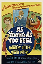 As Young as You Feel (1951) Poster - Movie Forum, Cast, Reviews