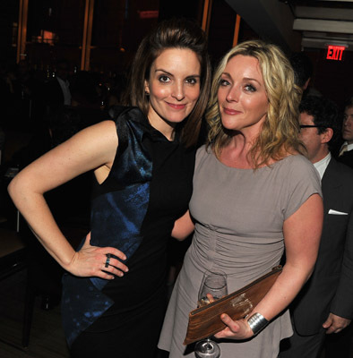 Jane Krakowski and Tina Fey at an event for Date Night (2010)