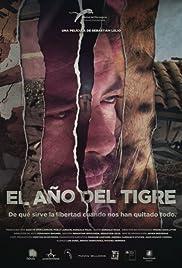 El año del tigre Poster