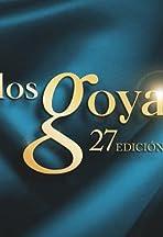 Los Goya 27 edición