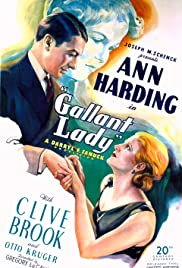 Gallant Lady Poster