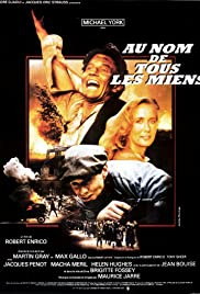 Au nom de tous les miens (1983) Poster - Movie Forum, Cast, Reviews