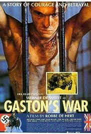 Gaston's War Poster