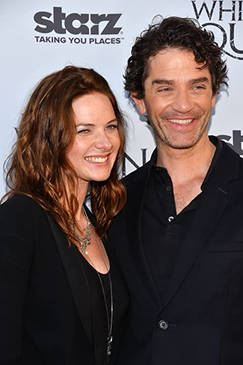 Rebecca Ferguson and James Frain