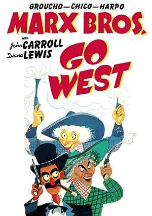 Los hermanos Marx en el Oeste -