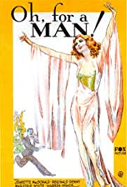 Oh, for a Man! Poster