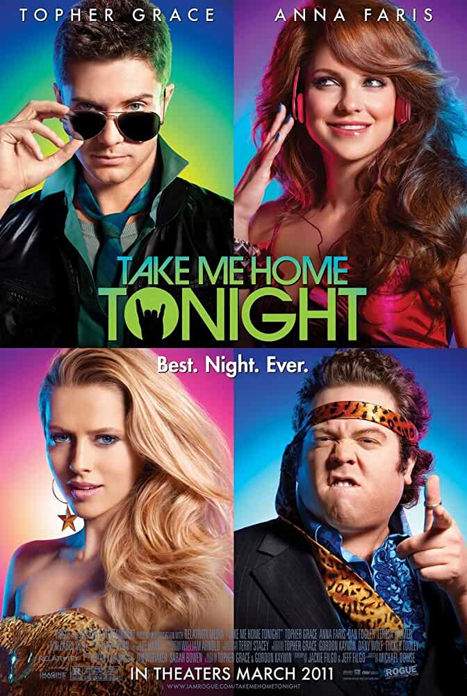 Poster Take Me Home Tonight 2011Full HD Movie Download Hindi Dubbed