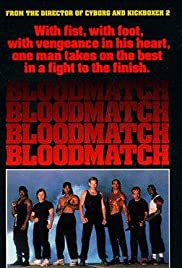 Bloodmatch (1991) Poster - Movie Forum, Cast, Reviews