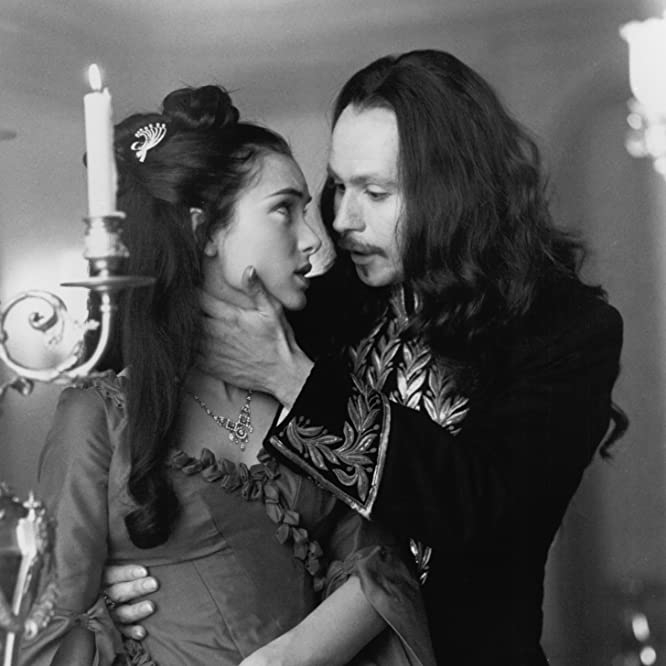 Gary Oldman and Winona Ryder in Dracula (1992)