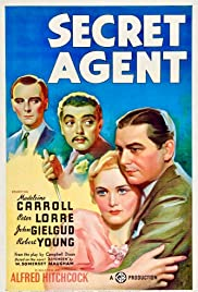 Secret Agent (1936) Poster - Movie Forum, Cast, Reviews