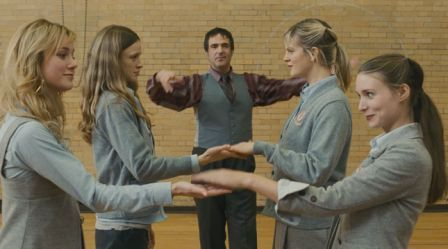 Brie Larson, Amy Ferguson, Rooney Mara, and Georgia King in Tanner Hall (2009)