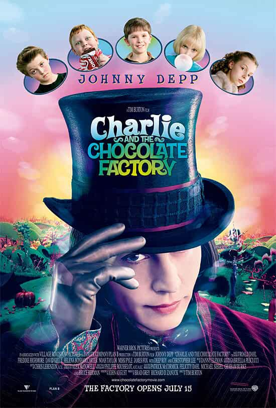 Charlie and the Chocolate Factory 2005 Hindi Dual Audio 480p BRRip full movie watch online freee download at movies365.org