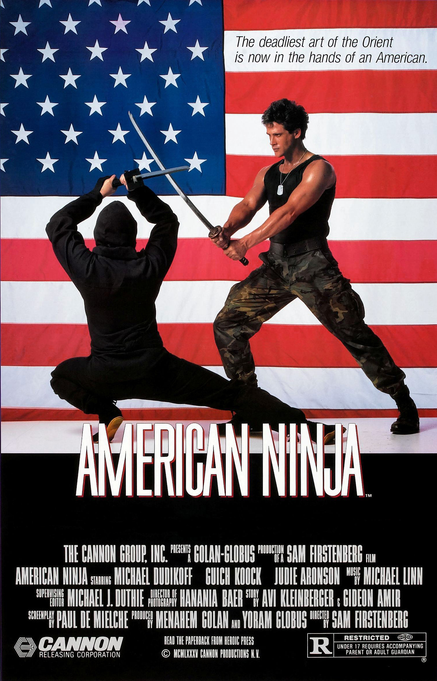 American Ninja Watch Full Movie Free Online