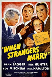 When Strangers Marry (1944) Poster - Movie Forum, Cast, Reviews