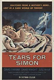 Tears for Simon (1956) Poster - Movie Forum, Cast, Reviews
