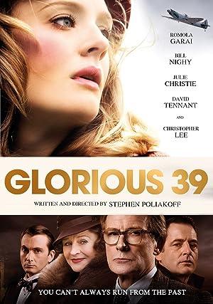 Glorious 39 poster
