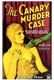 The Canary Murder Case (1929) Poster - Movie Forum, Cast, Reviews