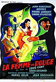 La femme en rouge Poster