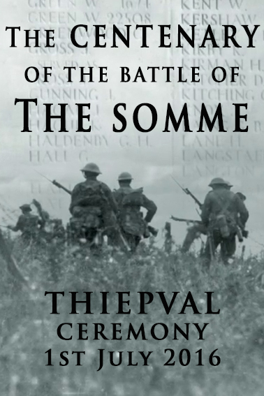 image The Centenary of the Battle of the Somme: Thiepval (2016) (TV) Watch Full Movie Free Online