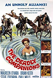 The Deadly Companions (1961) Poster - Movie Forum, Cast, Reviews